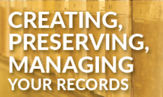 Creating Preserving and Managing Church Records