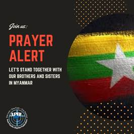 APBF Statement in Solidarity with the people of Myanmar!